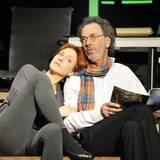 """Im März 2012 steht Hendrikje Fitz mit Hugo Egon Balder für die Komödie """"Sei lieb zu meiner Frau"""" im Winterhuder Fährhaus in Hamburg auf der Bühne."""