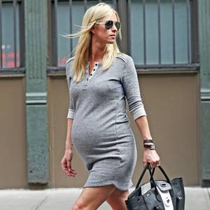 Nicky Hilton mit XL-Babykugel