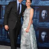 David Benioff und Amanda Peet
