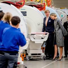 Tag 2  Das Königspaar ist bei Siemens Healthcare in Erlangen.
