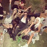 Feiern bis zum Umfallen: Paris Hilton und ihre Clique