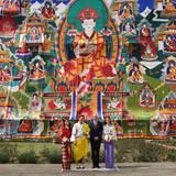 Tag 5  Je bunter, desto besser. Das Königreich Bhutan ist allgemein sehr farbenfroh.