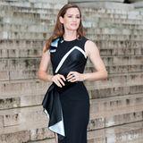 Jennifer Garner zeigt sich bei der Versace-Show in einem wunderschönen Kleid des Luxuslabels.
