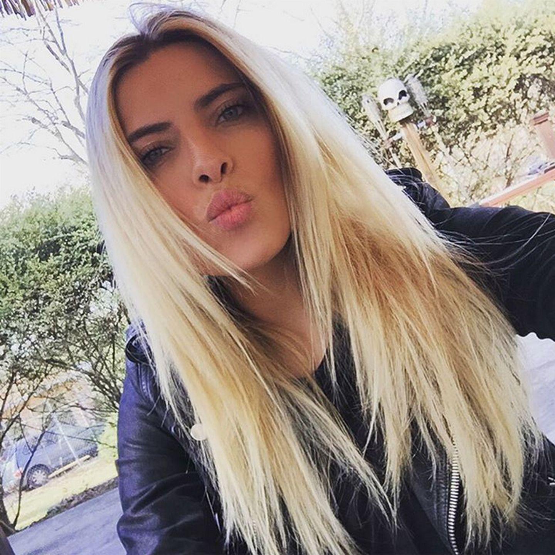 Sophia Thomalla hat alle möglichen Blond-Töne schon probiert. Auch Wasserstoffblond