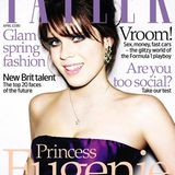 """2008: Prinzessin Eugenie auf der April-Ausgabe des britischen Magazins """"Tatler""""."""