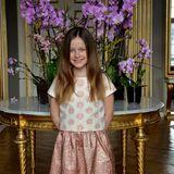 April 2016  Bei dem offiziellen Geburtstagsfoto von Prinzessin Isabella hat ihre Mutter Prinzessin Mary auf den Auslöser gedrückt. Der Hof veröffentlicht das Bild zum 9. Geburtstag der Prinzessin am 21. April.