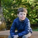 Oktober 2013  Auch beim Bild zum 8. Geburtstag ihres Sohnes Prinz Christian war die Kronprinzessin die Fotografin.