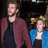 Juni 2016  Date Night: Miley Cyrus und Liam Hemsworth nehmen sich Zeit für sich und gehen Händchen haltend zum Dinner ins Soho House in New York City.