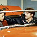 """1998–2006  Acht Jahre lang stehen Mila Kunis und Ashton Kutcher gemeinsam für die Sitcom """"Die wilden Siebziger"""" vor der Kamera."""