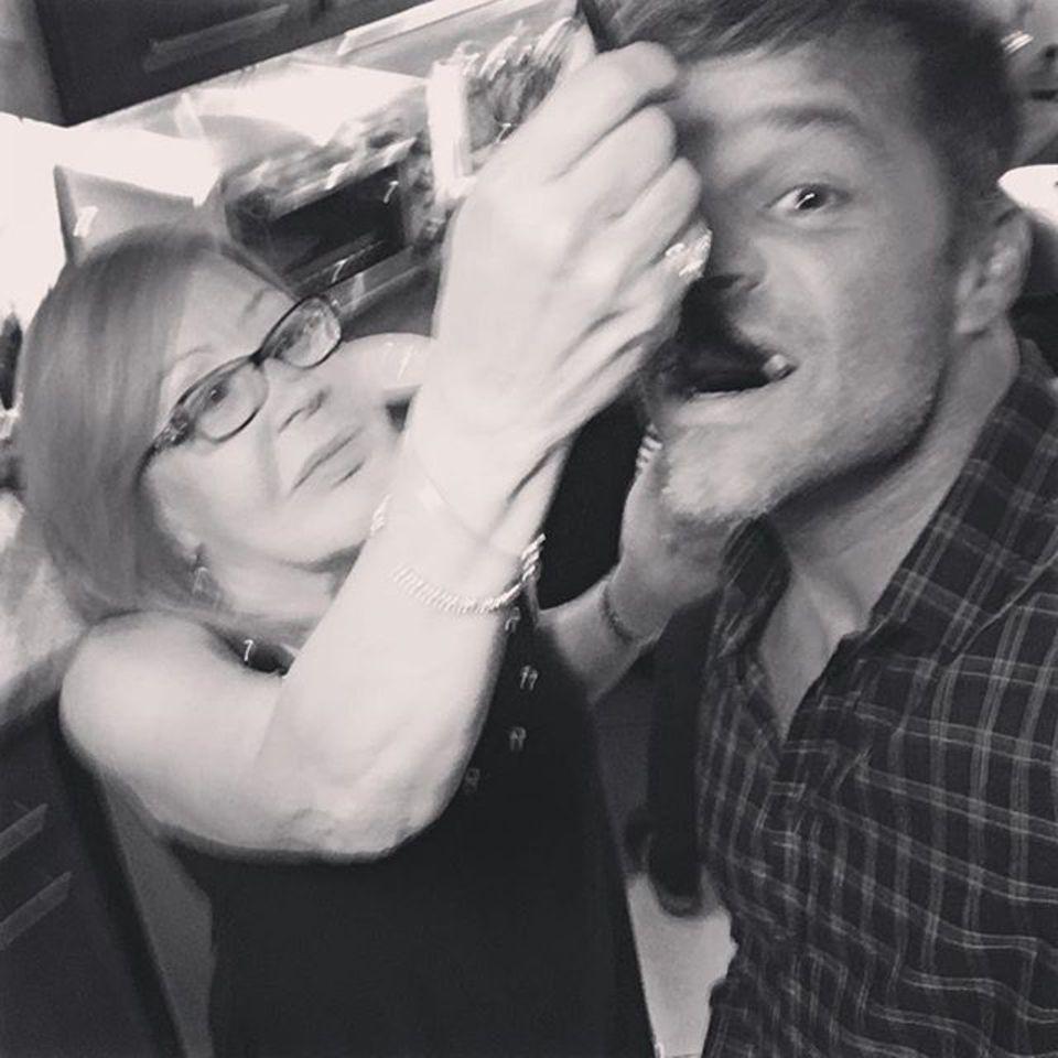Bei Mama schmeckt's immer noch am besten, findet auch Ricky Martin.