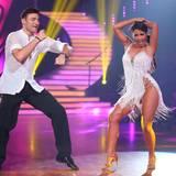 Sarah Lombardi und ihr Partner Robert Beitsch tanzen sich auf den zweiten Platz.