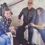 """Mila Jovovich kommt direkt von Libanon, sie ist Jurorin für """"Project Runway Middle East"""". Im Gepäck hat sie den Stardesigner Elie Saab dabei."""