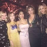 Frauenpower! Kristen Dunst, Isabelle Huppert, Salma Hayek, Valeria Golino und Vanessa Paradis sind gemeinsam in Cannes.