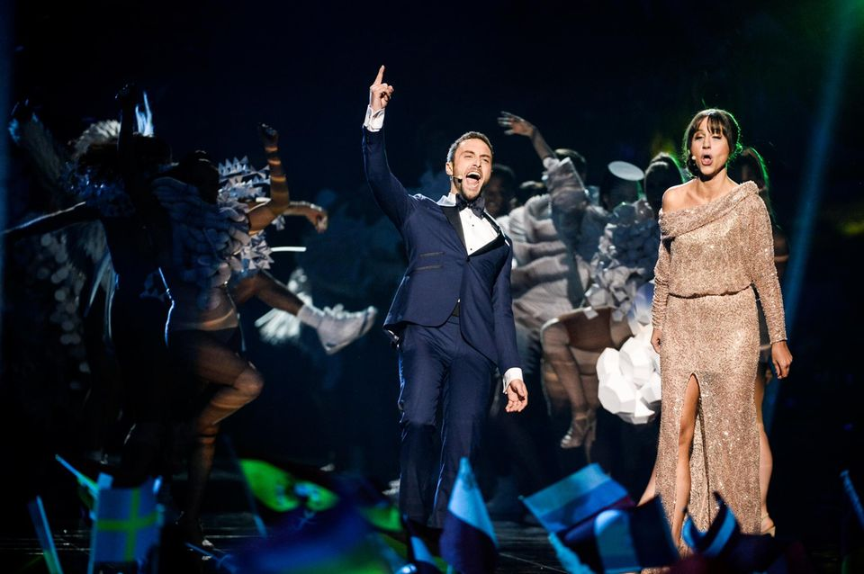 Moderiert wird der 61. Eurosvision Song Contest von Petra Mede und dem Vorjahressieger Måns Zelmerlöw.