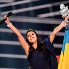 """Die Ukrainerin Jamala gewinnt mit ihrem Titel """"1944"""" den diesjährigen ESC. Der Song ist sehr persönlich und sehr politisch: Es geht um das Schicksal der Krimvertriebenen."""