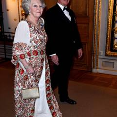 30. April 2016: Bankett  Prinzessin Beatrix und Fürst Albert