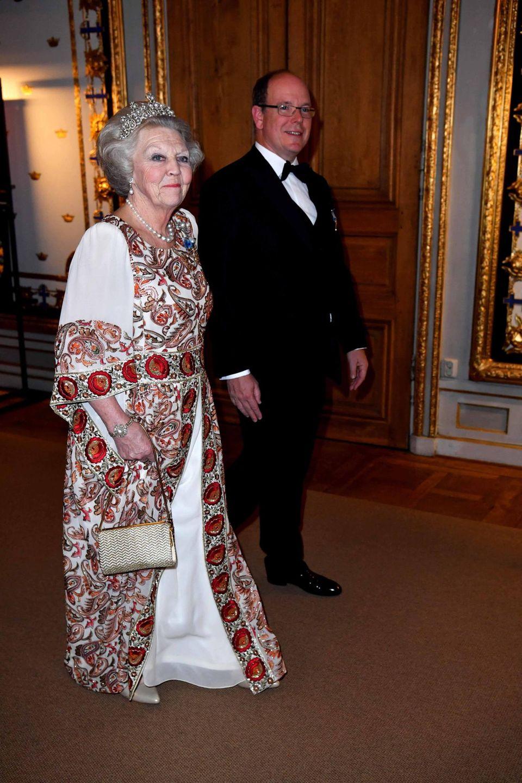 30. April 2016: Bankett  Prinzessin Beatrix und Fürst Albert