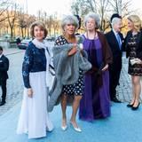 29. April 2016  Margaretha, Birgitta und Desiree, die Schwestern von König Carl Gustaf