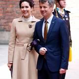 30. April 2016: Rathaus-Lunch  Dänemarks Kronprinzenpaar Mary und Frederik
