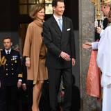 30. April 2016: Te Deum  Erbprinz Alois von Liechtenstein und seine Frau Sophie