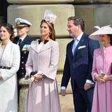 30. April 2016  Prinzessin Sofia neben Prinzessin Madeleine, Chris O'Neill und Königin Silvia