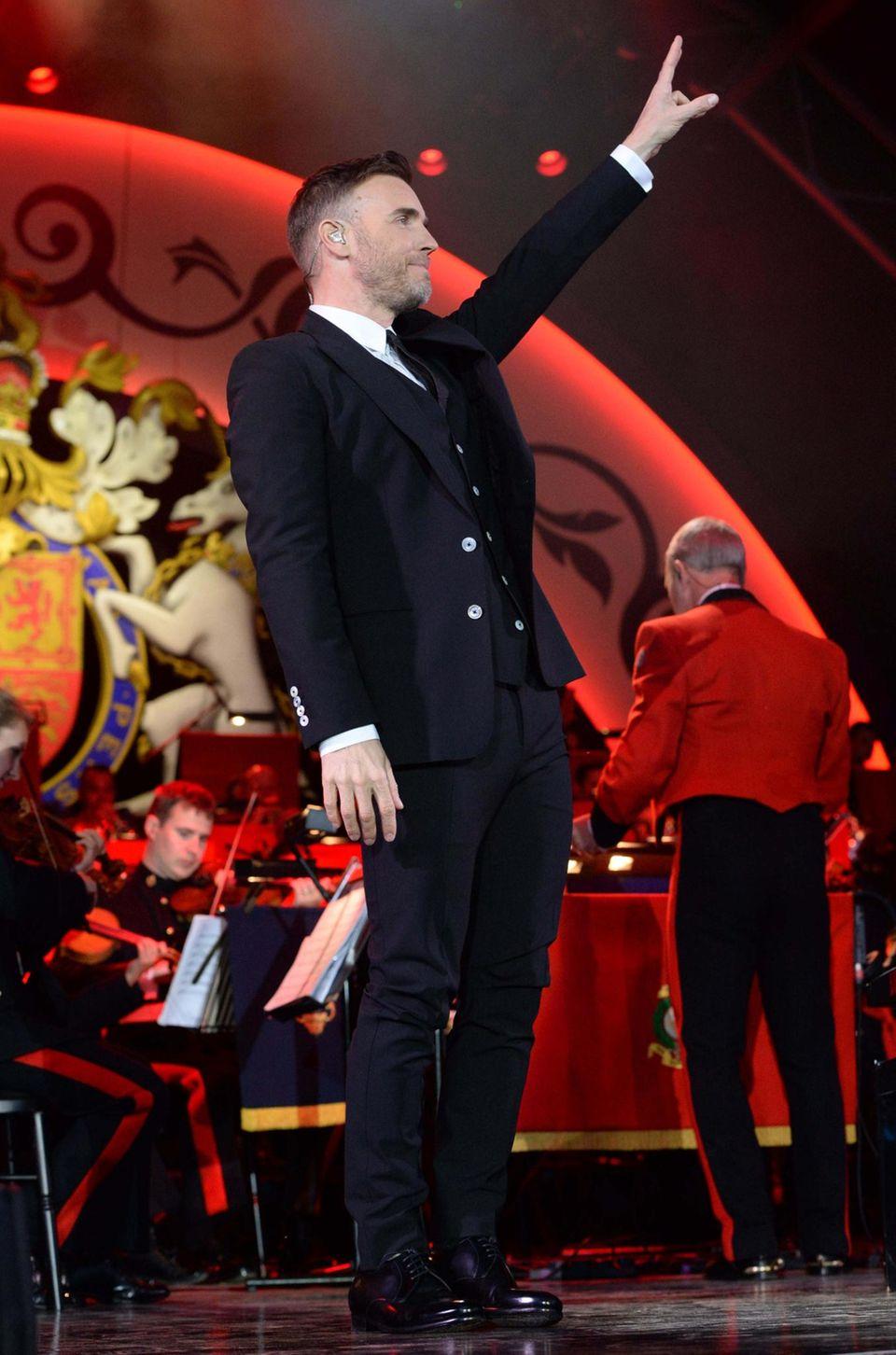 15. Mai: Abendgala Windsor  Mit Gary Barlows Auftritt beginnt die große Gala.