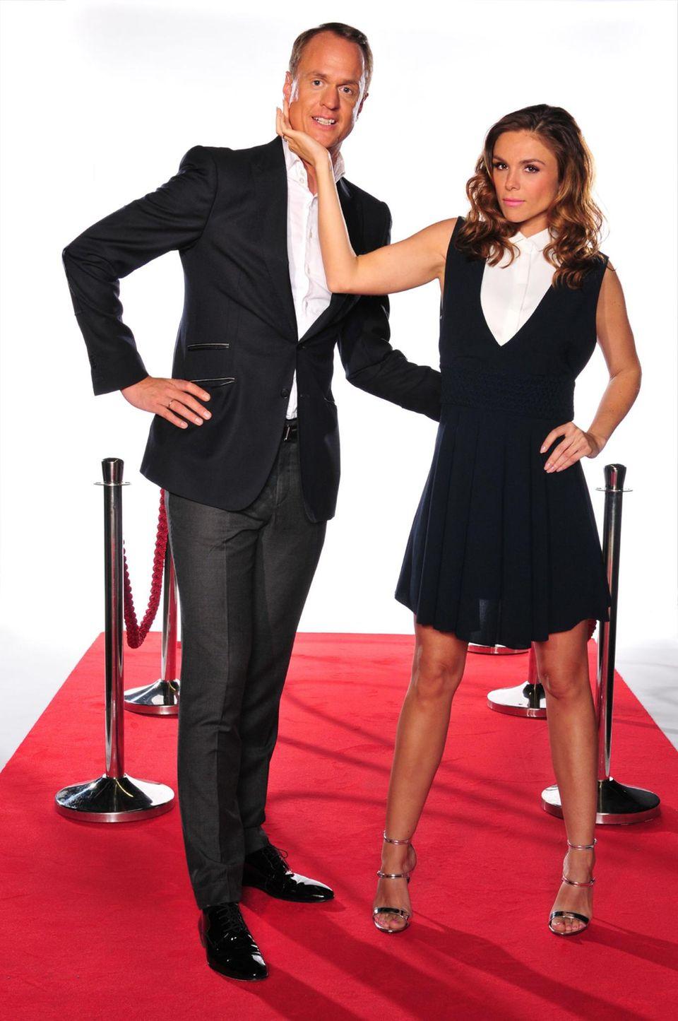 Alexander Posth und Angelina Ewerhardy
