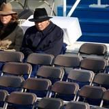 Januar 2009  Ein Unterstützer der Demokraten: Muhammad Ali und seine Frau Yolanda Williams sind zu Gast bei der offiziellen Amtseinführung von US-Präsident Barack Obama in Washington.