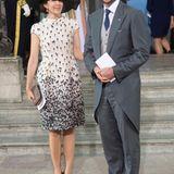"""Prinzessin Mary und Prinz Haakon sind beide Paten von Prinzessin Estelle, bei Prinz Oscars Taufe sind ihre Ehepartner """"dran"""" mit diesem Amt."""