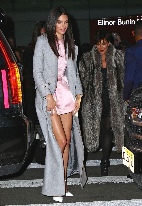 Kendall Jenner hatte auch ihre Mutter Kris Jenner mit zur Premiere gebracht.