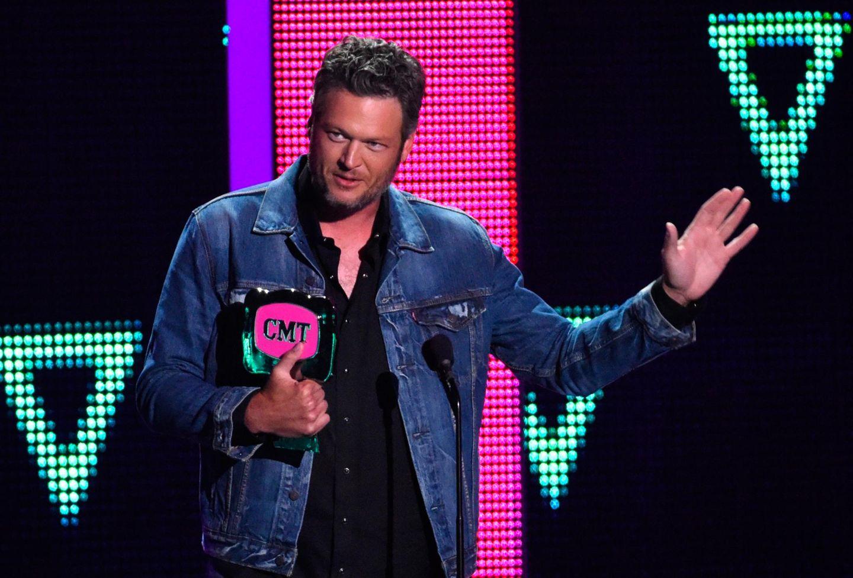 """Blake Shelton wird zum """"CMT Social Superstar"""" gewählt."""