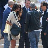Die nächsten Stargäste sind in Cannes eingetroffen: Amal und George Clooney werden im Hotel Cap-Eden-Roc empfangen.