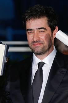 """Shahab Hosseini wird als bester Schauspieler ausgezeichnet. Er spielt die Hauptrolle in """"Salesman""""."""