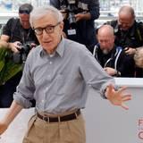 Woody Allen ist selbstverständlich auch bei den Filmfestspielen.