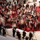"""Getummel auf dem roten Teppich: Der Film """"I, Daniel Blake"""" wird präsentiert."""