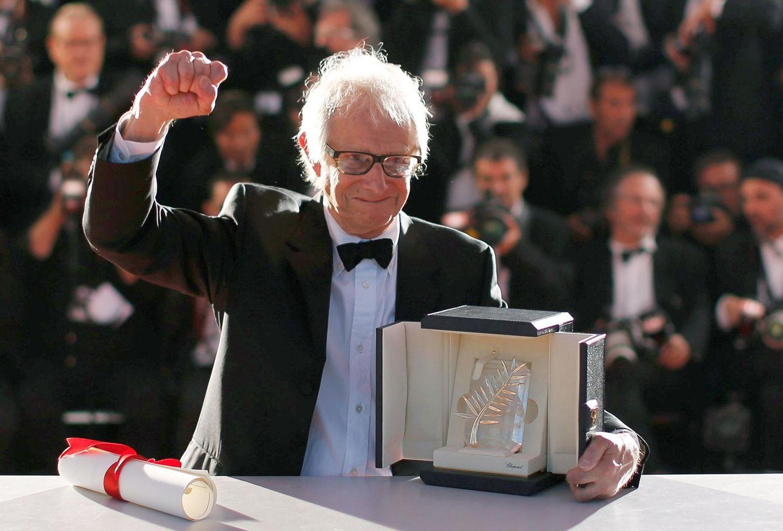 """Der britische Regisseur Ken Loach gewinnt die diesjährige Goldene Palme für den Film """"I, Daniel Blake""""."""