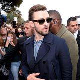 """Justin Timberlake ist auch in Cannes angekommen. Er tourt gerade durch Europa, um den Animationsfilm """"Trolls"""" zu promoten."""