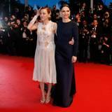 """Juliette Binoche und Valeria Bruni Tedeschi präsentieren ihren Film """"Ma loute""""."""