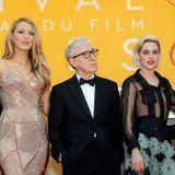 Die Filmfestspiele sind eröffnet. Corey Stoll, Blake Lively, Woody Allen, Kristen Stewart und Jesse Eisenberg stellen sich den Kameras.
