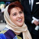 Auch Filmproduzentin und Jury Mitglied Katayoon Shahab iist bereits in Cannes angekommen.