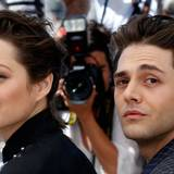 "Marion Cotillard begleitet Regisseur Xavier Dolan zur Filmvorführung ""Juste la fin du monde"" (It's Only the End of the World)."