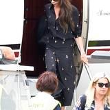 Victoria Beckham kommt natürlich nicht ohne ihre Entourage nach Cannes.