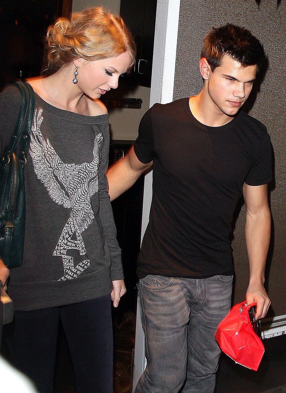 Taylor Swift und Taylor Lautner