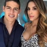 Daniela Ospina ist auch Spielerfrau und mit James Rodriguez verheiratet. Sie selbst ist Volleyballerin.
