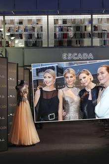 Lena Gercke, Luisa Hartema, Nadja Auermann, Tatjana Patitz