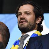 Prinz Carl Philip ist nach Nizza gefahren, um sich das letzte Gruppenspiel zwischen Schweden und Belgien anzuschauen.