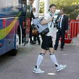 Die Mannschaft um Manuel Neuer kommt im Hotel in Marseille an.