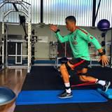 Cristiano Ronaldo traniert fleißig für das nächste Spiel.