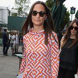 Pippa Middleton besucht das Wimbledon Turnier am siebten Tag
