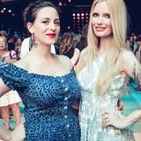 Mirja Du Mont ist nur einer der Star-Gäste bei der Fashion-Show von Lena Hoschek.